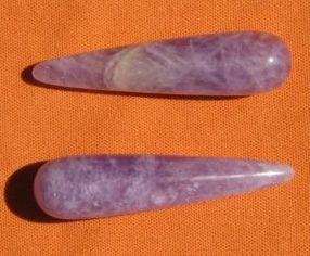 Drágakő Ametiszt rúd, ametiszt pálca drágakővíz, kristály elixir készitéséhez, drágakő terápiához Gy