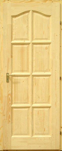 Fa beltéri ajtó - Delta Fenyő íves