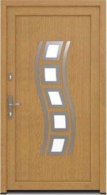 Műanyag bejárati ajtó - Boszporusz 8