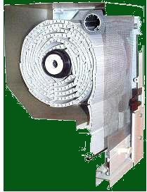 Külső tokos műanyag kombiredőny