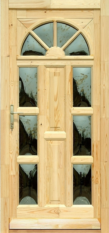 Fa bejárati ajtó - Marketéria Napsugár