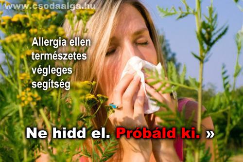 allergia ellen természetesen