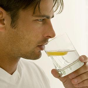 igyál tisztított vizet