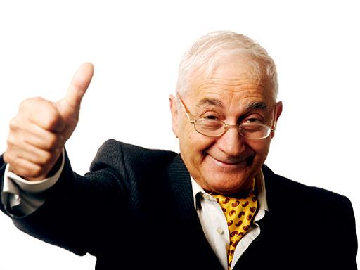 happy old man csodaalga