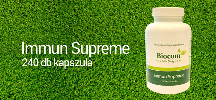 ÚJ Immun Supreme alga kapszula immunerősítés