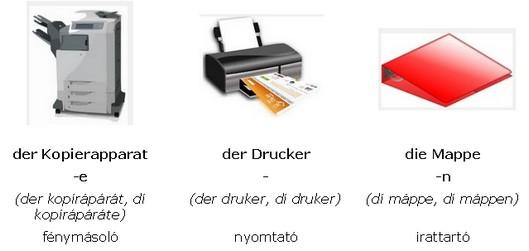 német szavak
