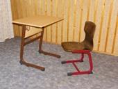 D típusú 1 személyes asztal
