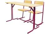 Niki típusú 2 személyes asztal