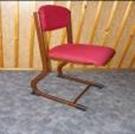 SH Kárpitozott tanári szék