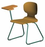 Szánkótalp flex  wood írólapos szék