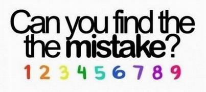 Meg tudod találni a hibát?